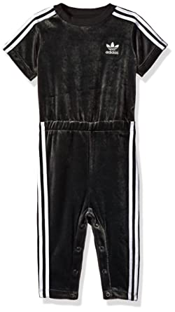 Amazoncom Adidas Originals Sets Infant Jumpsuit Utility Black
