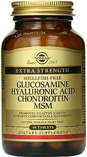 Solgar Glucosamina Acido Hyaluronic Chondroitin - 60 Tabletas