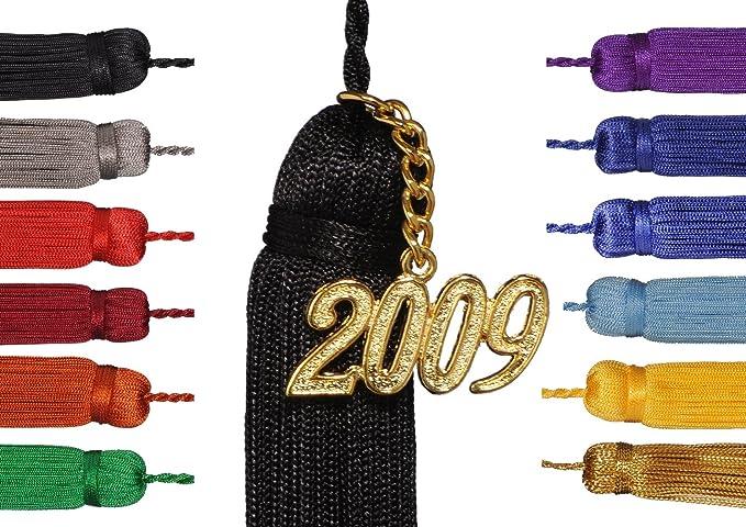 Robe Academicus nappe per cappello laurea con l anno numero marce in  diversi colori 1dab06447cf7