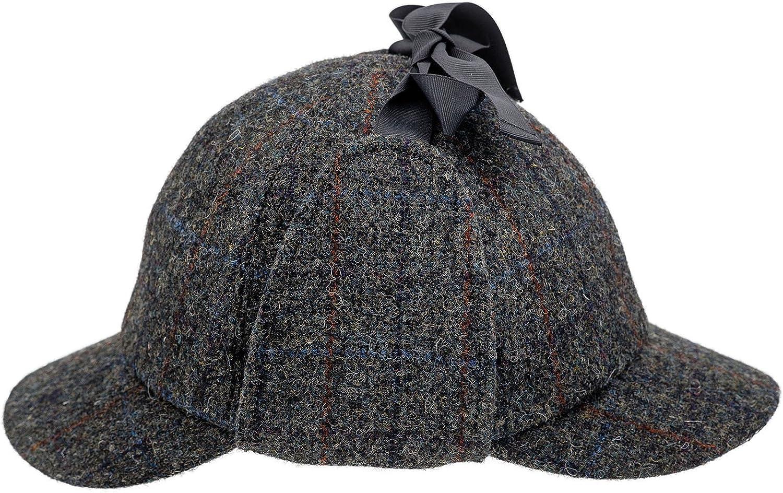 Sterkowski Harris Tweed Deerstalker Sherlock Cap