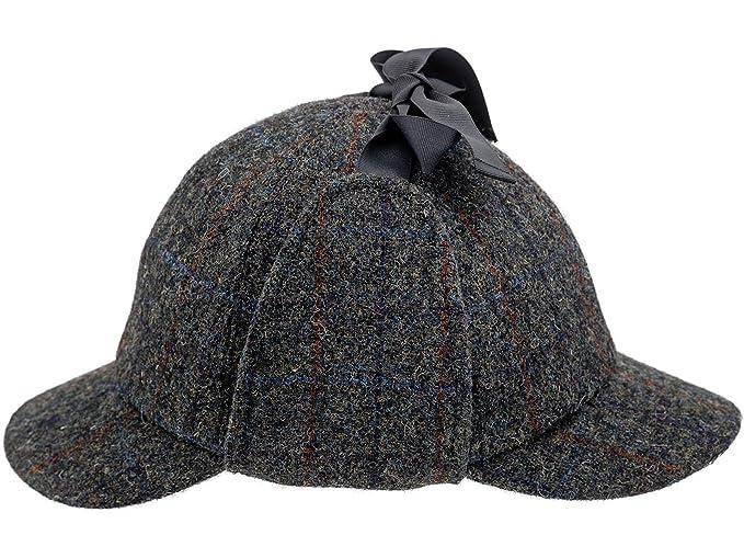 Sterkowski Harris Tweed Deerstalker Sherlock Cap at Amazon Men s ... 55076634a56