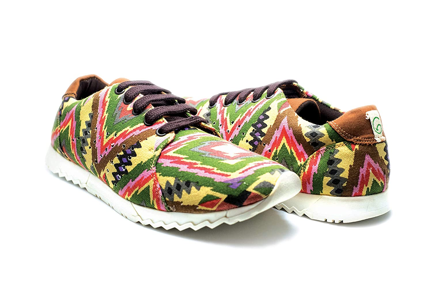 e42333e3edb48 Greensole Sporty Afro Unisex Eco-Friendly Shoes Red and Green: Buy ...