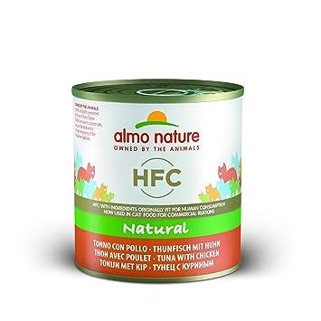Almo Nature Classic, Atún con Pollo para Gatos, Pack de 12 x 280 g: Amazon.es: Productos para mascotas