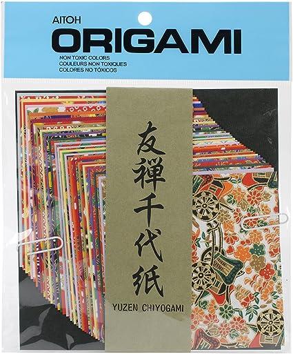 2 sheets A4 Japan Yuzen Washi Chiyogami Paper P190