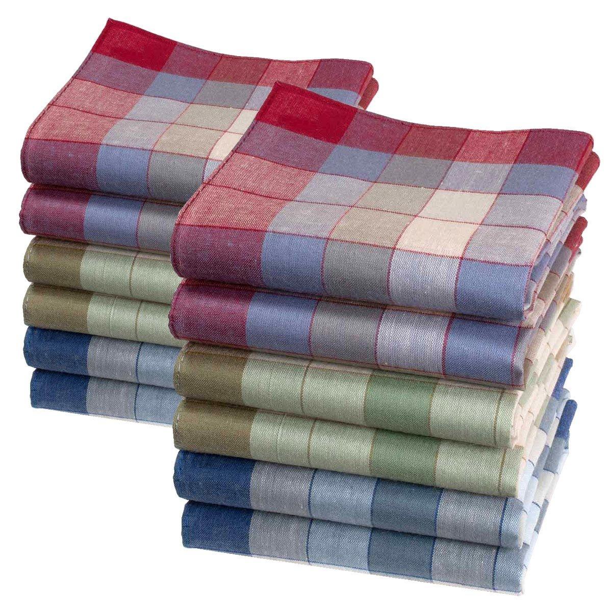 """Men's handkerchiefs 'Marius', 16"""" square, 6 12 units. 16"""" square"""