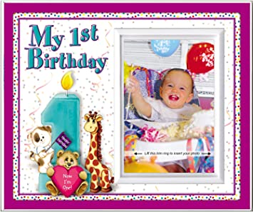 Amazon.com: Mi primer cumpleaños – Marco Regalo: Home & Kitchen