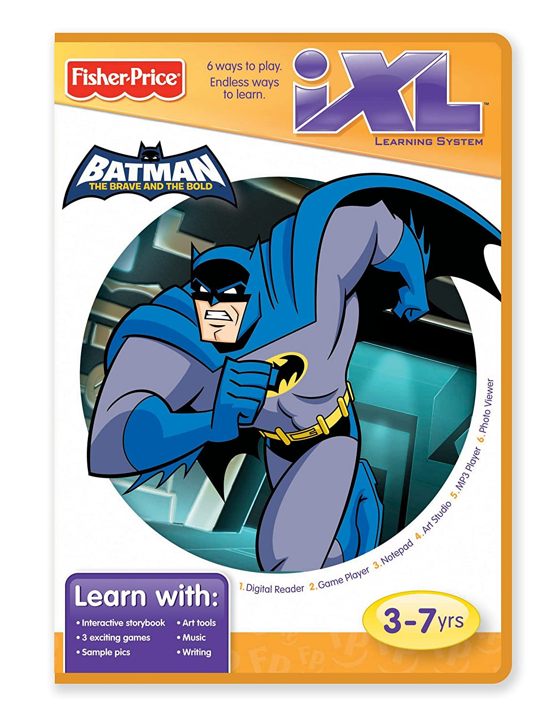 Amazon.com: Fisher-Price iXL Learning System Software Batman: The ...