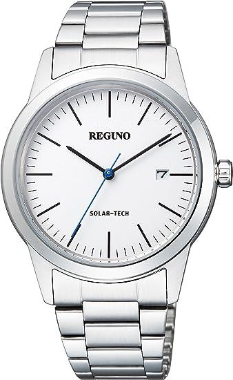 [シチズン] 腕時計 レグノ ソーラーテック ペア KM3-116-11 シルバー