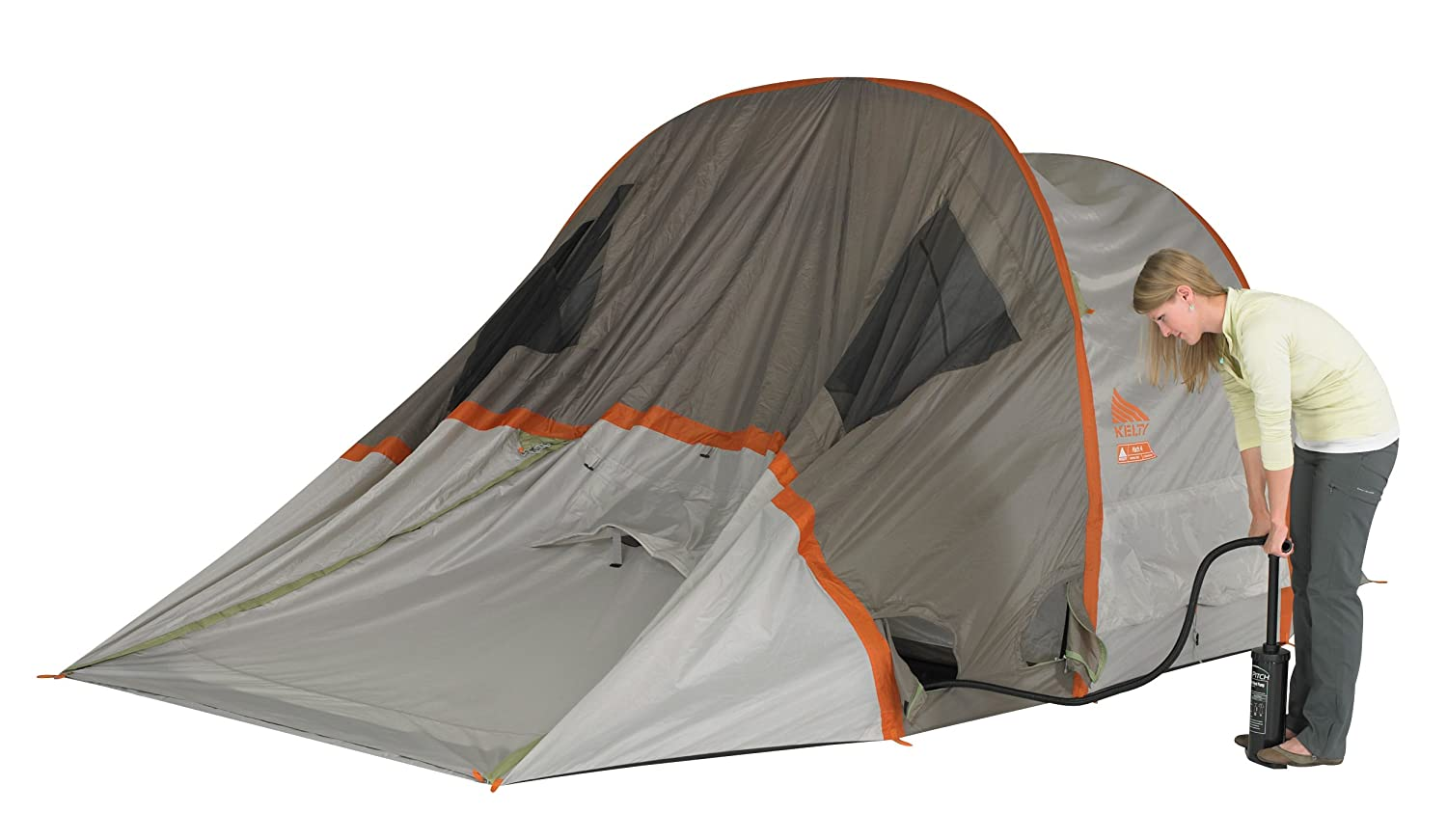 Amazon.com  Kelty Mach 4 AirPitch Tent with Footprint Bundle - One Size Grey  Sports u0026 Outdoors  sc 1 st  Amazon.com & Amazon.com : Kelty Mach 4 AirPitch Tent with Footprint Bundle ...
