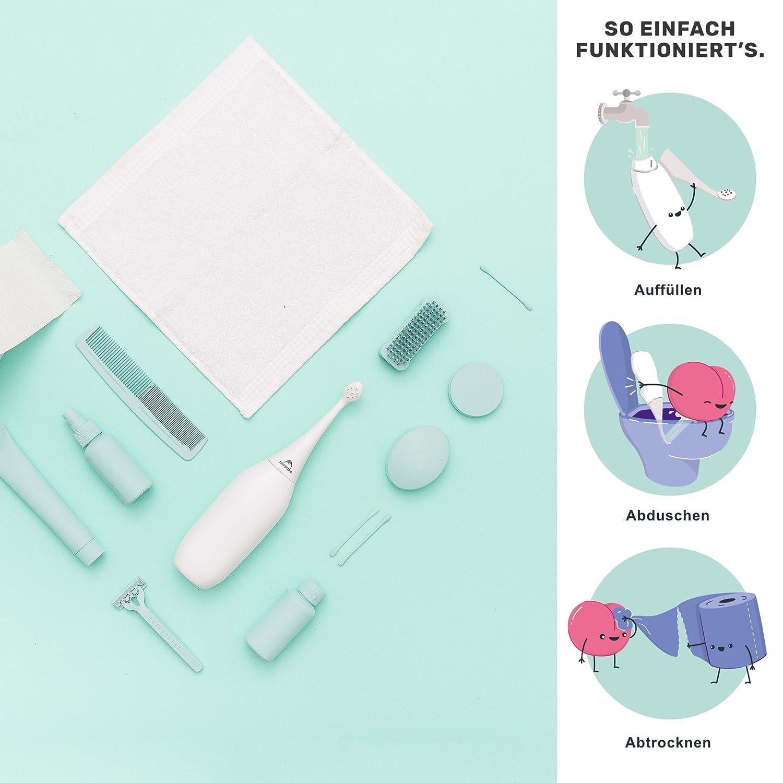 HappyPo | Bidé portátil de fácil uso: Amazon.es: Salud y cuidado personal