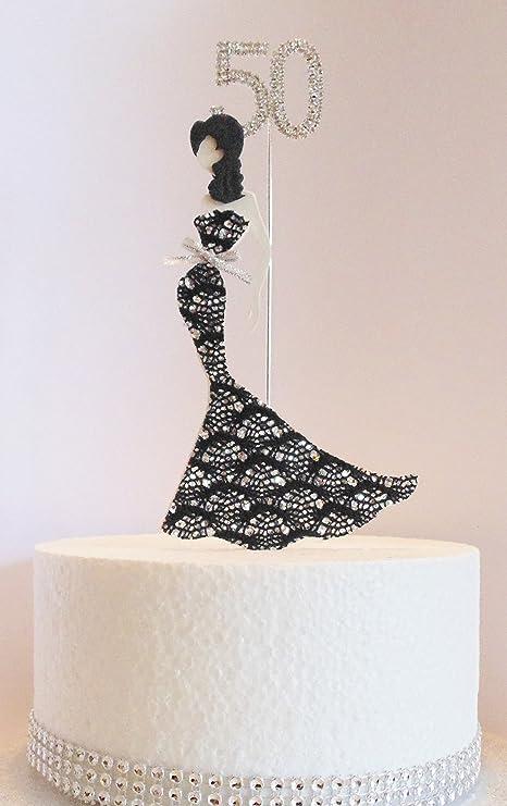 Cake Wardrobe Decoración para Tarta DE 50 cumpleaños, diseño ...