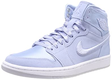 14d7b46bc4ca58 Jordan Air 1 Retro High Women s Shoes Hydrogen Blue White ao1847-445 (10.5