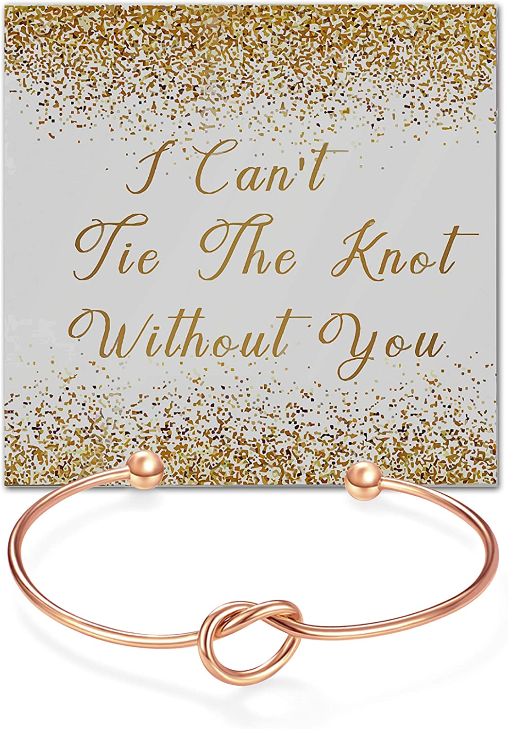 I Couldnt Say I DO Without You Stainless Steel Engraved Cuff Wedding Bangle for Bride Tribe Bridesmaid Maid of Honor Bridesmaid Proposal Gifts Adjustable Bracelets