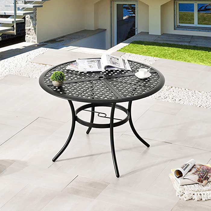 The Best Patio Furniture With Umbrella And Chairs