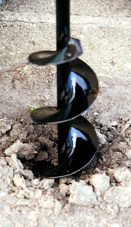 Power Planter Tari/ère /à Longueur /Étendue 8 cm x 61 cm 1//2-inch Noir