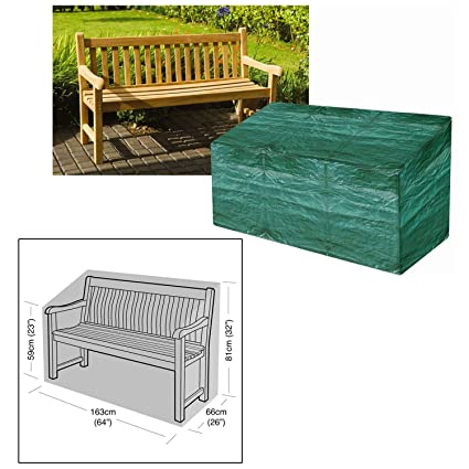 Parkland Heavy Duty Waterproof 3 Seater Garden Outdoor Furniture Bench Cover
