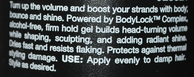 Volumax Work That Body Volumizing Gel 16.9 oz 3 Pack Alcohol Free