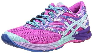 asics gel-noosa tri 10 wettkampfschuh damen - pink hellblau