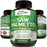 Saw Palmetto Capsules - Natural Prostate Health Support, 100 Capsules