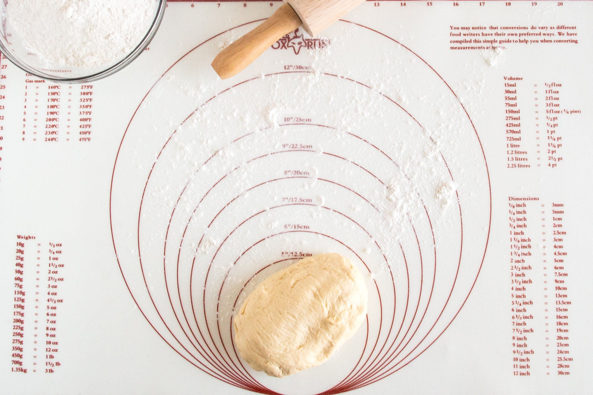 Fox Run 4724 Pastry/Baking Mat with Measurements, Silicone by Fox Run (Image #6)