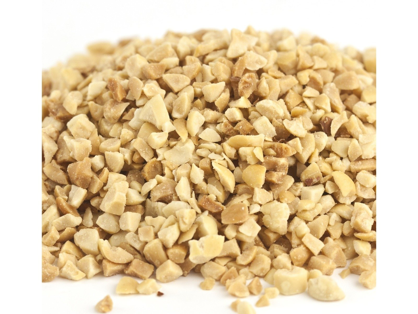 Yankee Traders Brand, Dry Roasted Peanuts, Granulated Ice Cream Topping - 1 Pound Bag