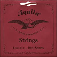 Aquila Red Series AQ-86 Concert Ukulele Strings - Low G - Set of 4