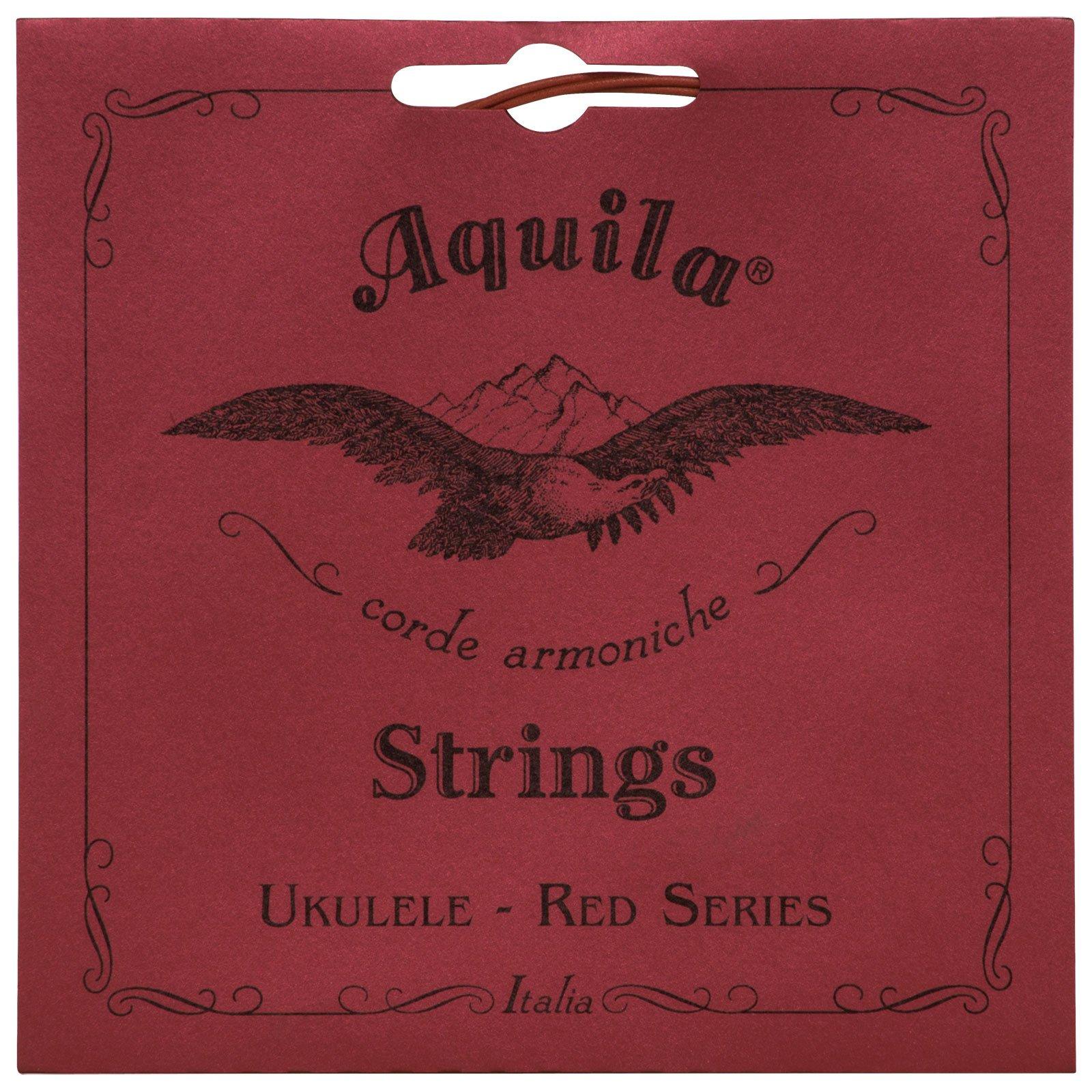 Aquila Red Series AQ-84 Soprano Ukulele Strings - Low G - 1 Set of 4