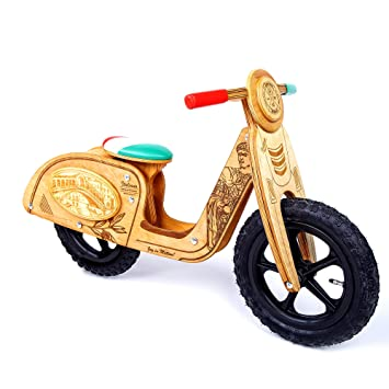 2 3 4 5 jahre Caesar Laufrad Holz Vespa Exklusiv Lauflernrad Balance bike