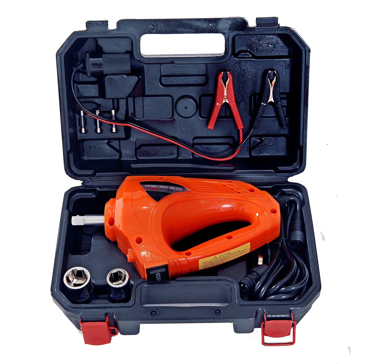 Auto Electric Impact Wrench 11Amp 480 N.M 12V DC 1/2'' Car Repair Tools Gun Kit