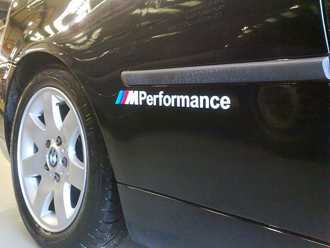 Bmw M Performance Ss20004 Vinyl Aufkleber Selbstklebend Auto Sticker Paar Auto