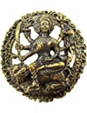 1Box Powerful maa durga uma devi parvati hindu goddess real amulet brass pendant life protection with amulet Necklace & Gift