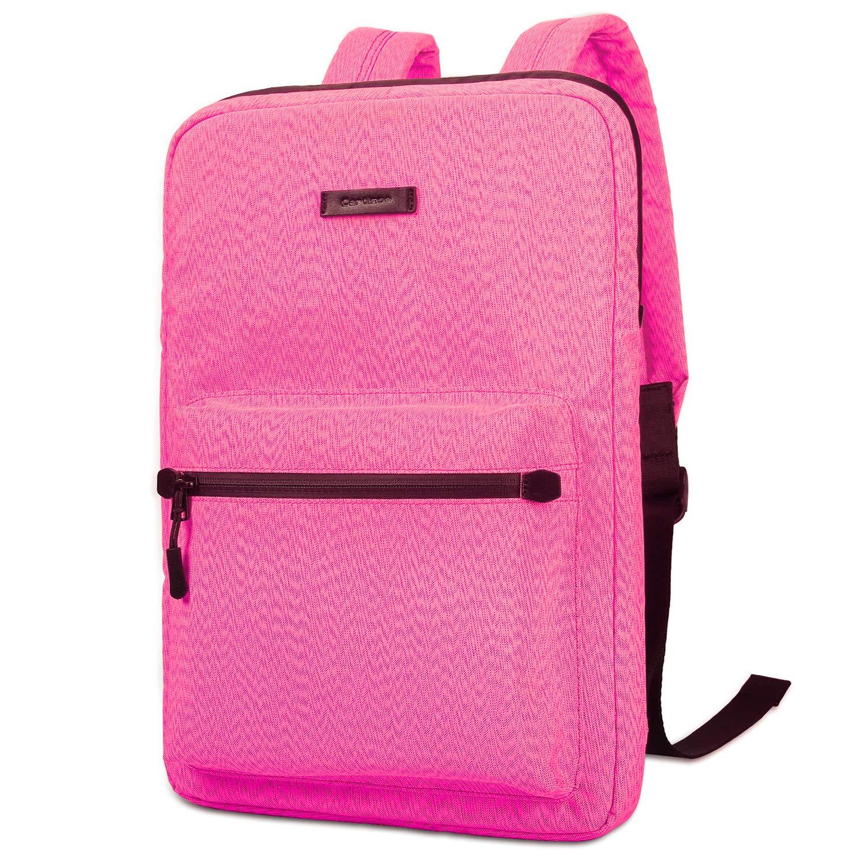 3b5068706137a4 Ultra-Thin Laptop Backpacks, Cartinoe Canvas Lightweight Backpack for Girls  School Rucksack Women College Bookbag, 13 14 15 inch Chromebook Laptop Bag  for ...