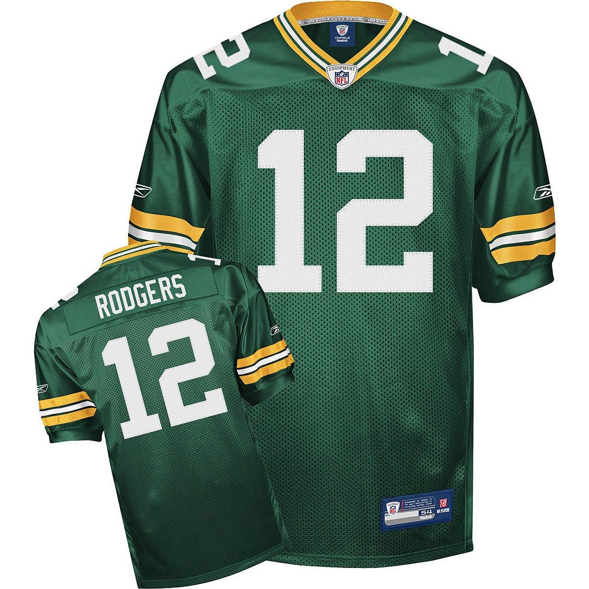 promo code 21668 98b37 Amazon.com : Reebok Green Bay Packers Aaron Rodgers ...