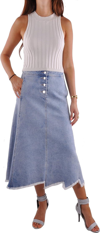 Style J Blue Sky Jean Skirt