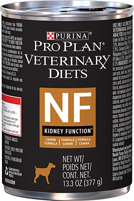 Purina Pro Plan Veterinary Diets NF Kidney Function Canine Formula Wet Dog Food - (12) 13.3 Oz Cans