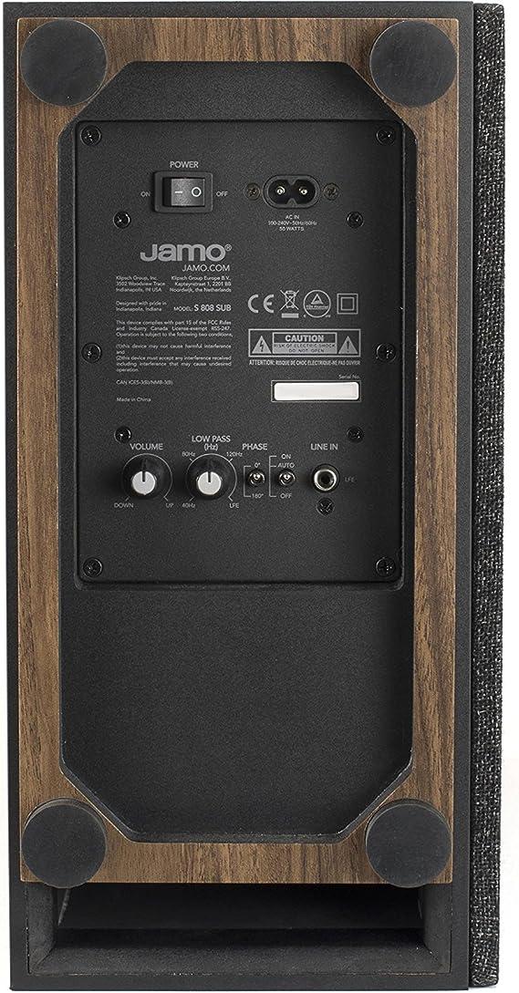 Jamo S 808 Subwoofer Black Mp3 Hifi