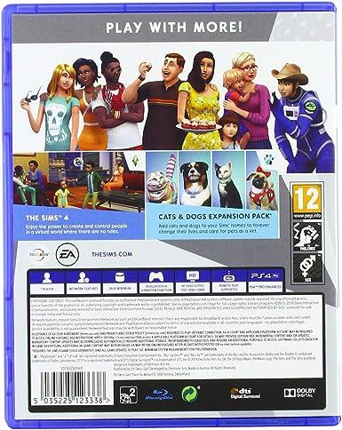 The Sims 4 Plus Cats and Dogs Bundle - PlayStation 4 [Importación inglesa]: Amazon.es: Videojuegos