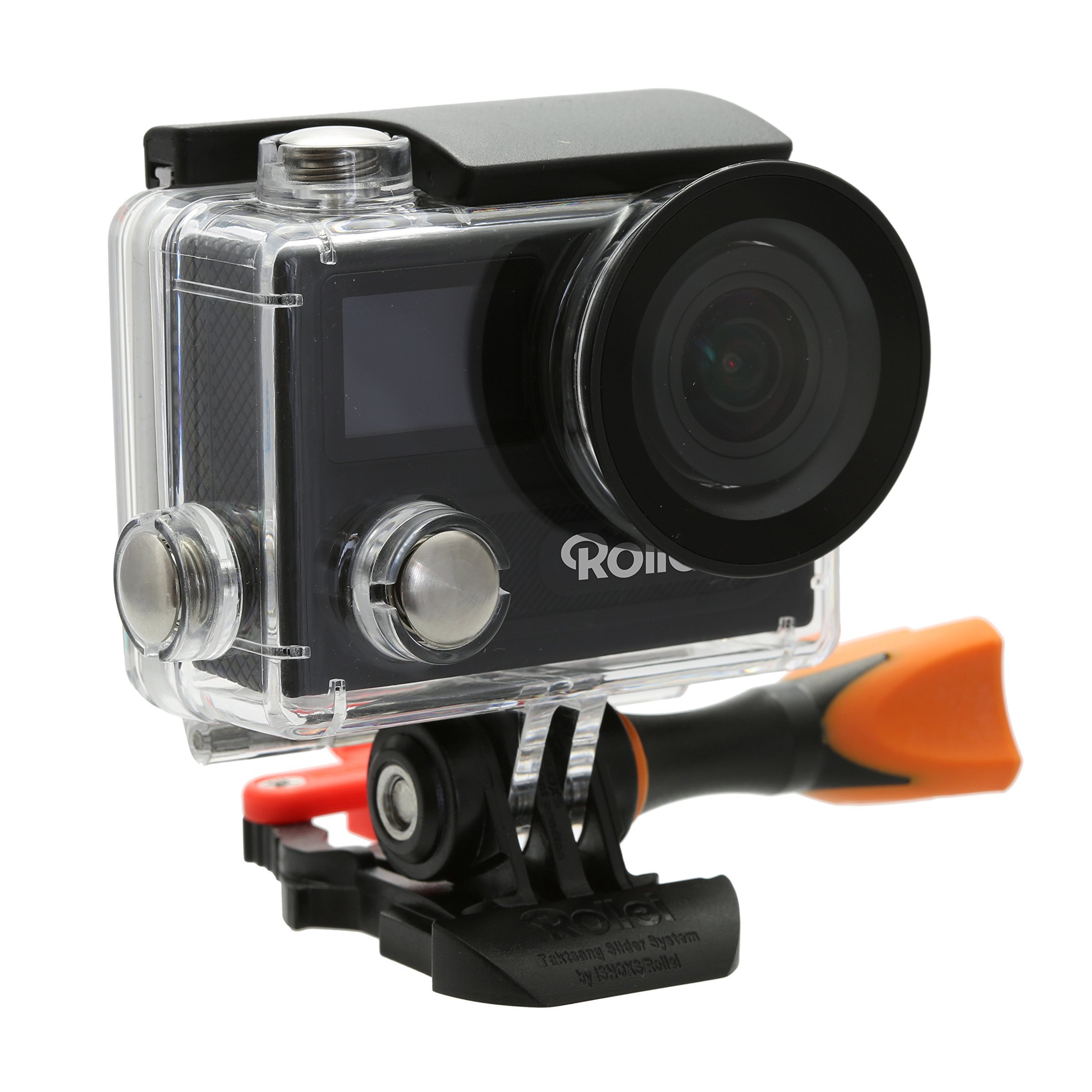 Rollei Actioncam 430 Powerful Wi-Fi Action Camcorder with 4K, 2K and Full HD Video Resolution - Black
