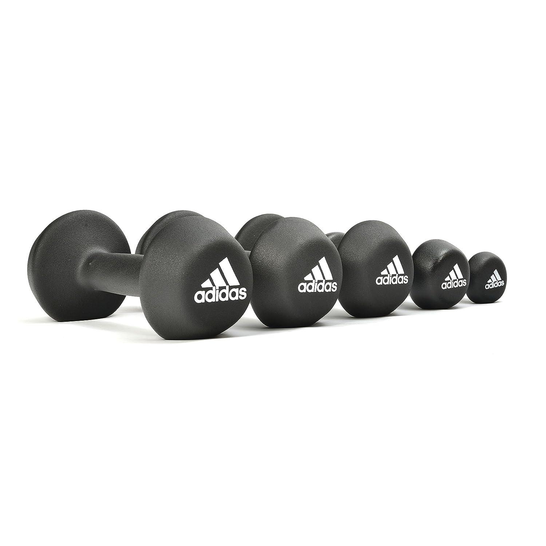 adidas ADWT-10022 Mancuerna, Unisex, Negro, 2 kg: Amazon.es: Deportes y aire libre