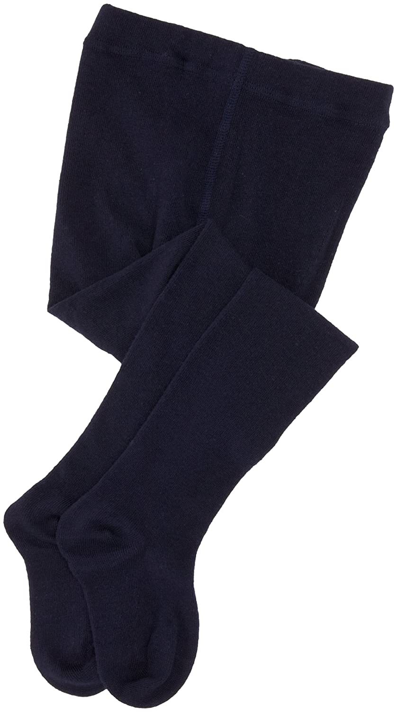 Jefferies Socks Little Girls' School Uniform Heavyweight Tights (Pack of 2)