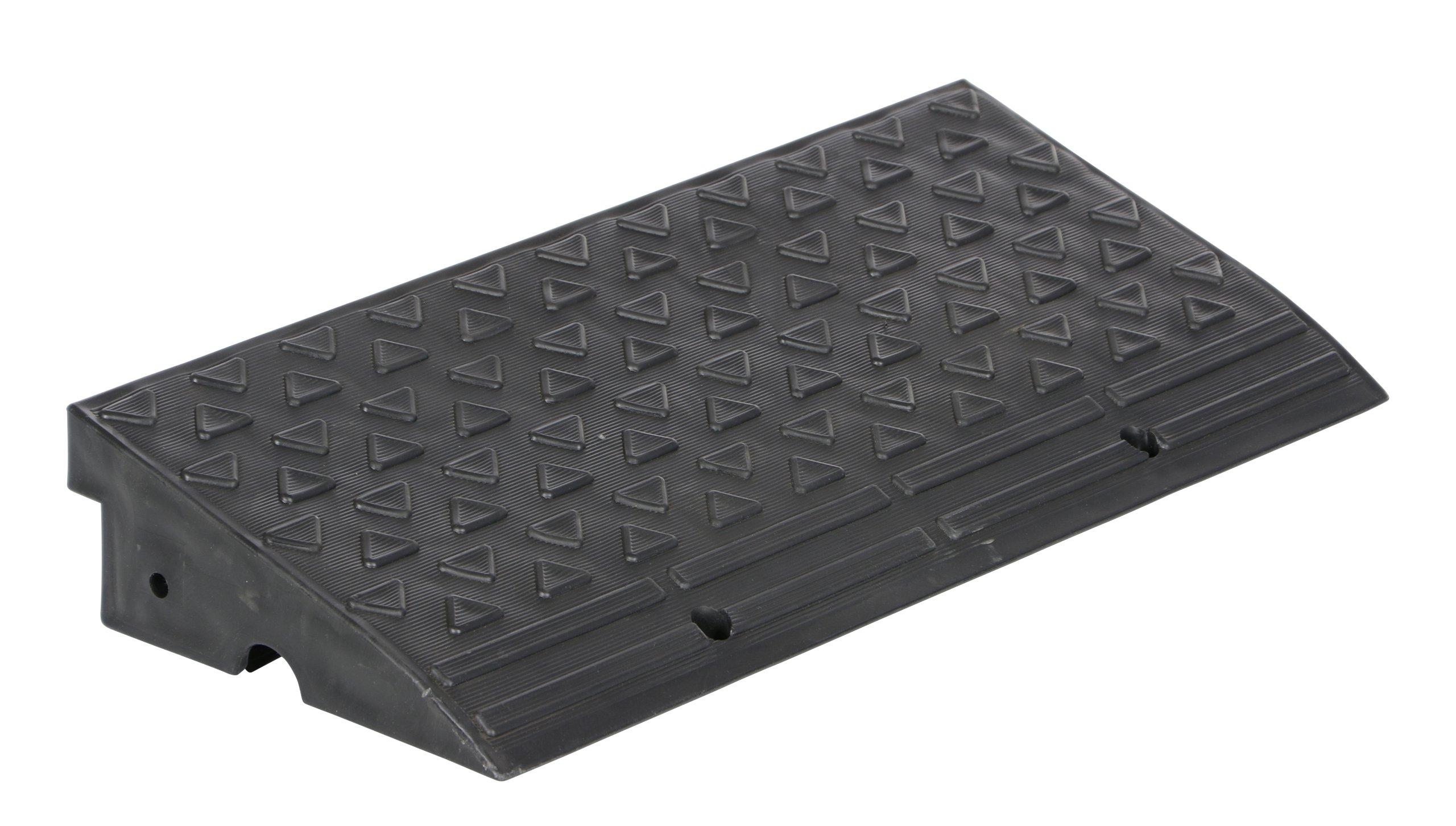 Vestil MPR-2410 Plastic Multi Purpose Ramp, 5000 lbs Capacity, 10-5/8'' Length, 23-13/16'' Width, 3-7/8'' Height