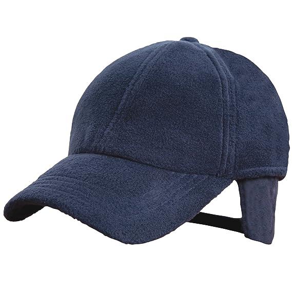 Result - Cappello In Pile con Visiera - Uomo (Taglia unica) (Blu navy)   Amazon.it  Abbigliamento 457f40a8ab08