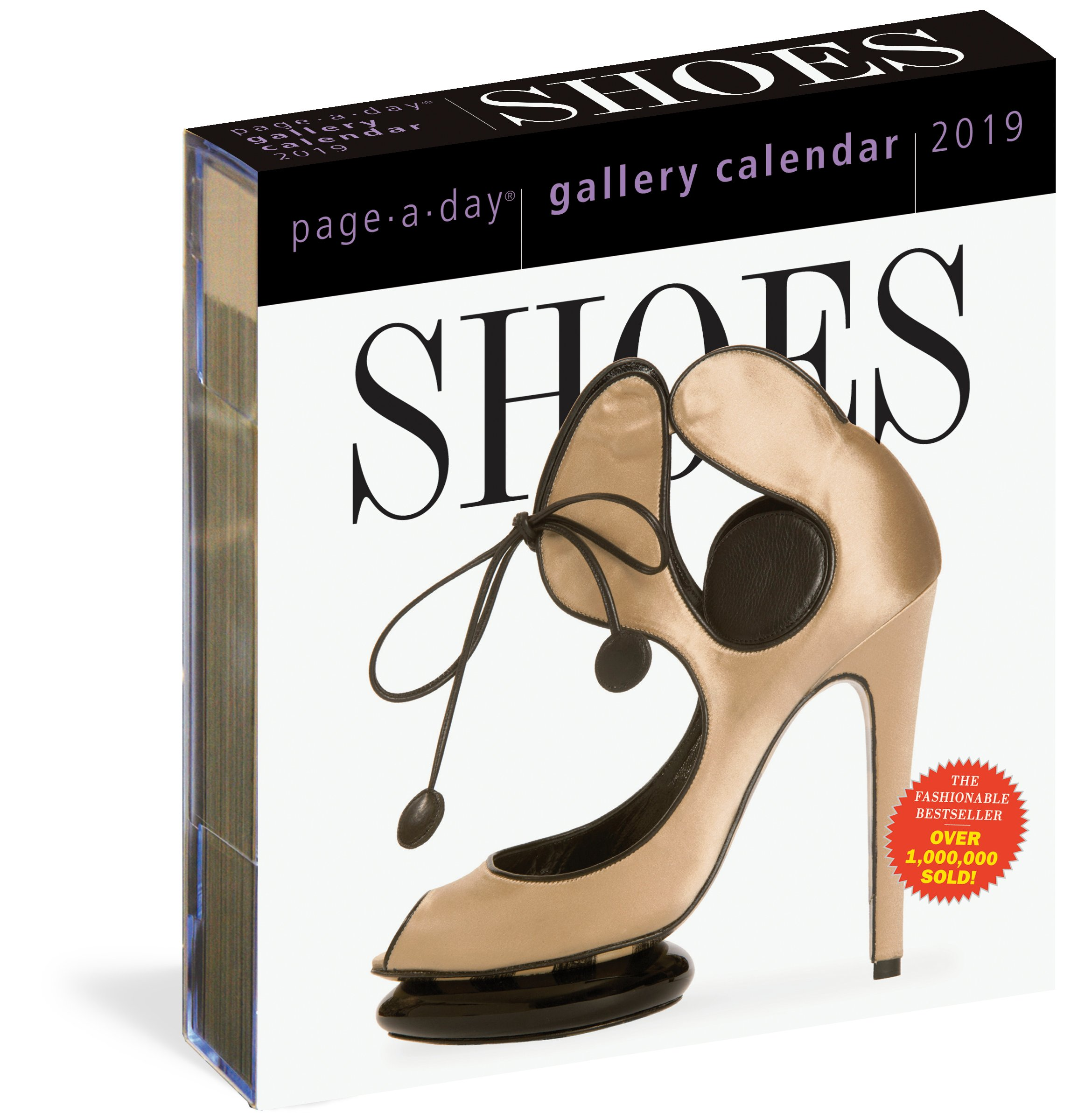 Shoes Page-A-Day Gallery Calendar 2019 Calendar – Day to Day Calendar 473525c3f