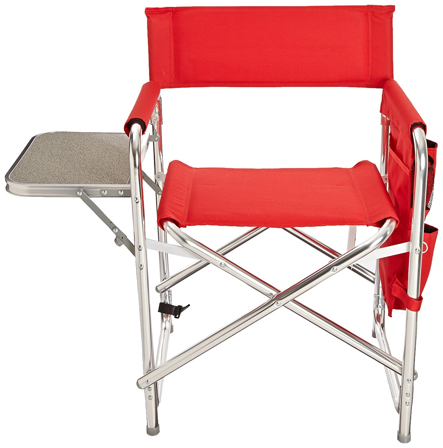 Amazon Picnic Time Sports Chair Red Patio Lawn & Garden