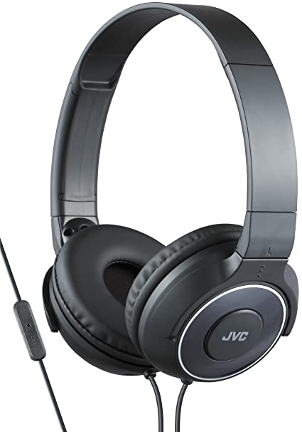 JVC HA-SR225-B-E - Auriculares de diadema cerrados (diseño portátil, control