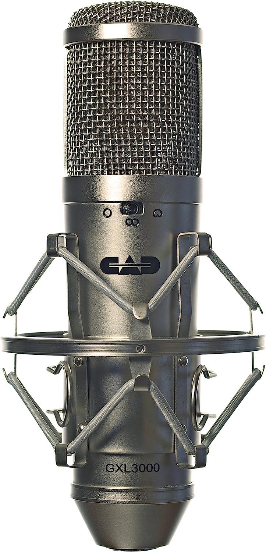 B0009K6NXE CAD Audio GXL3000 Large Diaphragm Multi-Pattern Condenser Microphone 81ZAA2gWzEL