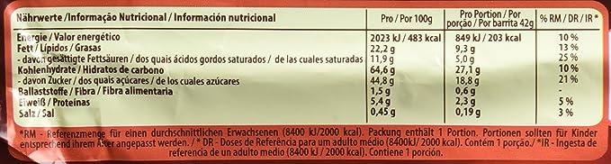 Lion Chocolate con Caramelo y Cereales - Paquete de 24 x 42 gr - Total: 1 kg: Amazon.es: Alimentación y bebidas