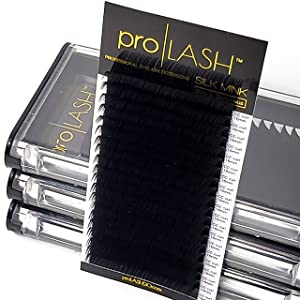 (14mm, C Curl 0.15mm 20 Row) Select for All Sizes   20 Row Lash Box   7-20mm & 14-20mm Mixed   8-20mm Single   0.07mm 0.15mm 0.20mm   C D CC DD Curl   Premium Eyelash Extensions from pro LASH