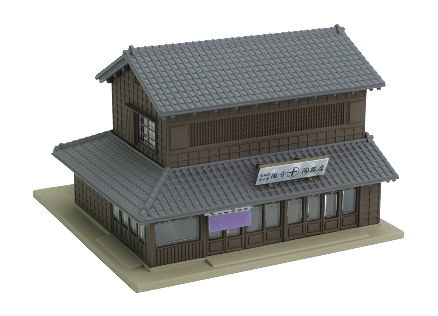 Kato 23-452 Corner Shop With Traditional Eaves 1 (Left) (japan import)