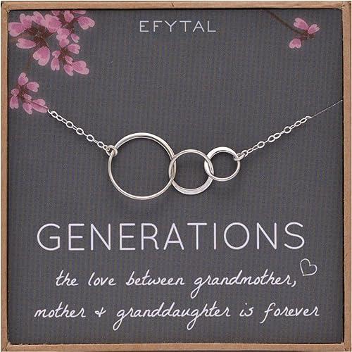 Amazon.com: Collar de generaciones de efítalos para regalos ...
